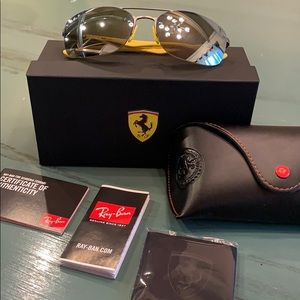 Ferrari Polarized Ray Bans BRAND NEW
